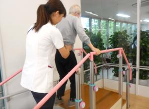 理学療法:歩行練習