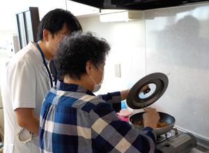 作業療法:調理練習